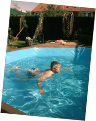 Wieso ein holz swimmingpool for Swimmingpool gummi